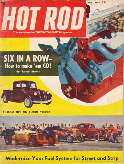 Hot Rod - April 1954
