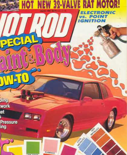 Hot Rod - March 1991