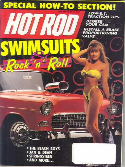Hot Rod - April 1991