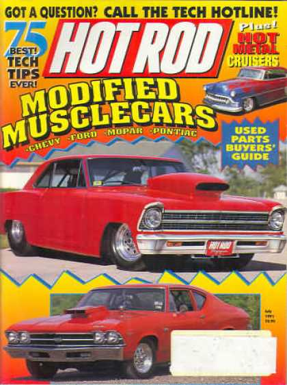 Hot Rod - July 1991