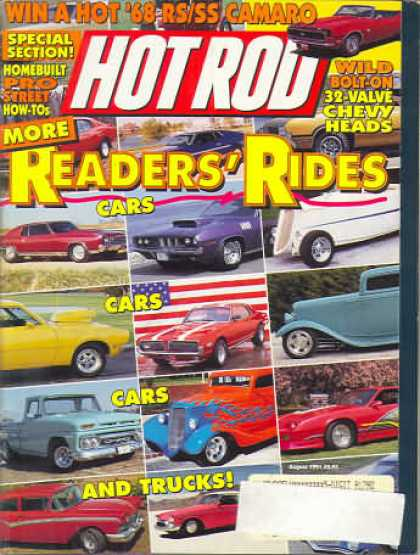 Hot Rod - August 1991