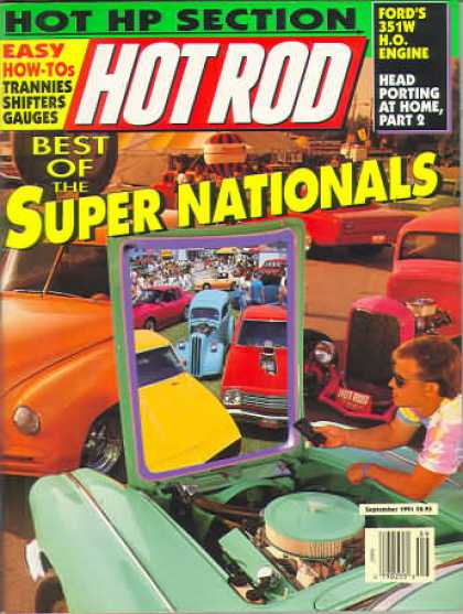 Hot Rod - September 1991