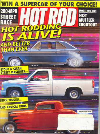 Hot Rod - January 1992