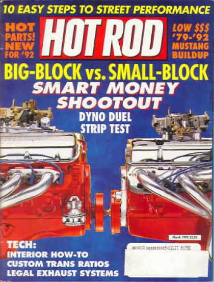 Hot Rod - March 1992