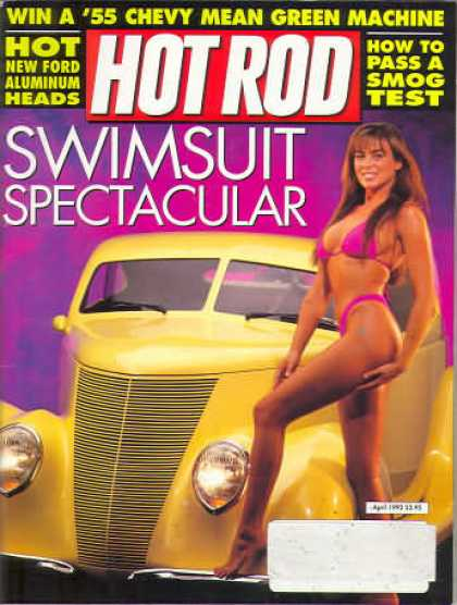 Hot Rod - April 1992