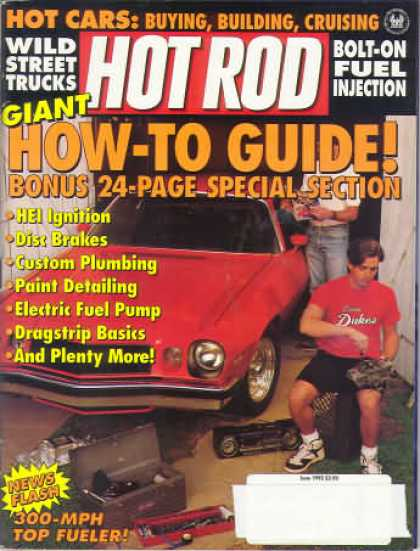 Hot Rod - June 1992
