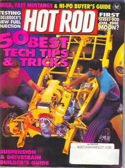 Hot Rod - July 1992