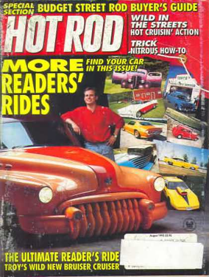 Hot Rod - August 1992