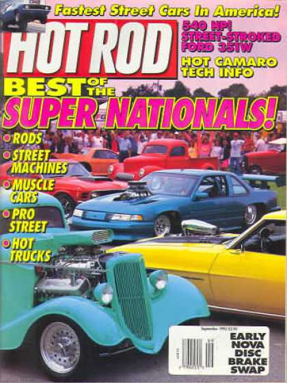 Hot Rod - September 1992