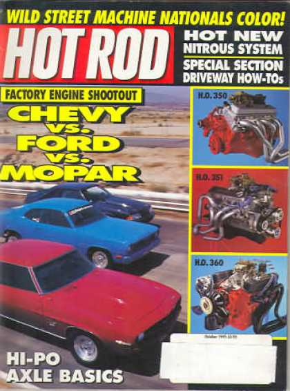 Hot Rod - October 1992