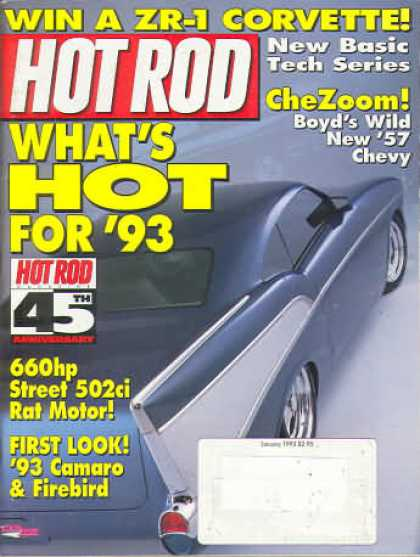 Hot Rod - January 1993