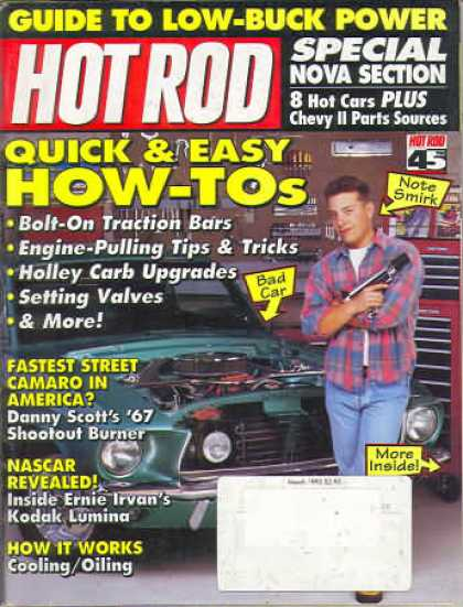 Hot Rod - March 1993