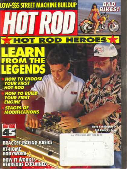 Hot Rod - July 1993