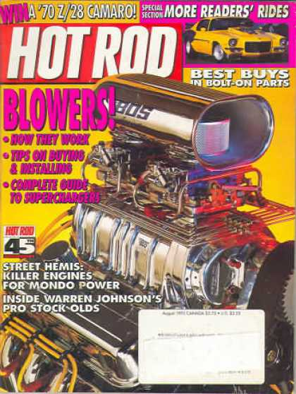 Hot Rod - August 1993