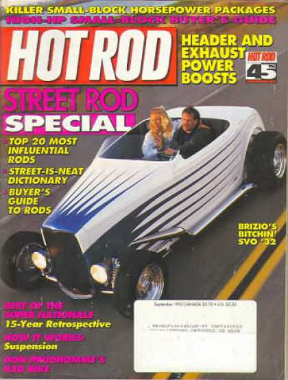 Hot Rod - September 1993