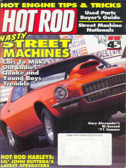 Hot Rod - October 1993