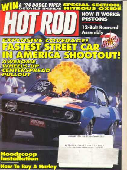 Hot Rod - January 1994
