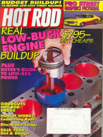 Hot Rod - March 1994