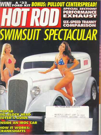 Hot Rod - April 1994