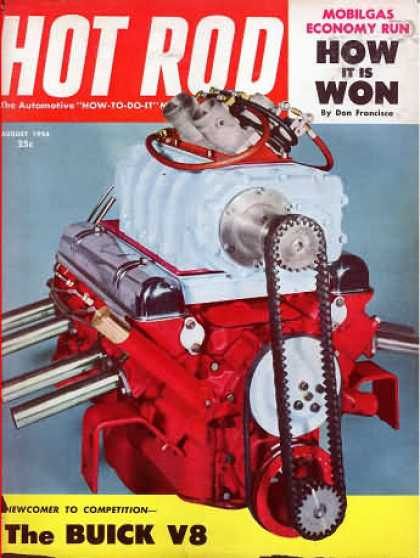 Hot Rod - August 1954
