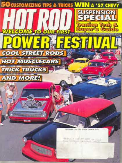 Hot Rod - September 1994