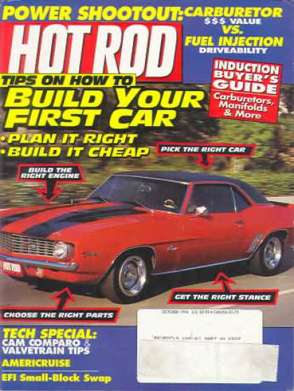 Hot Rod - October 1994