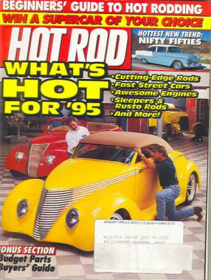 Hot Rod - January 1995