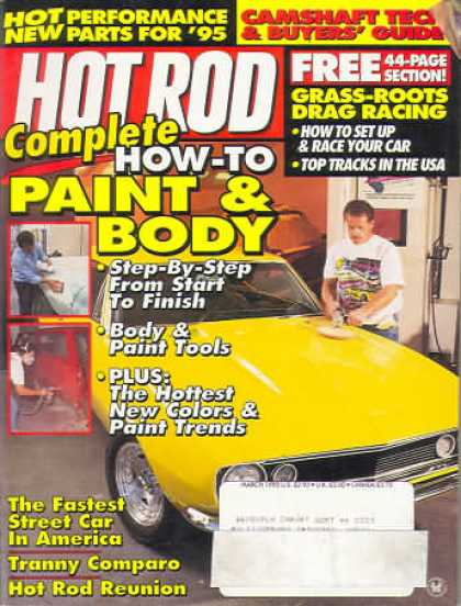 Hot Rod - March 1995