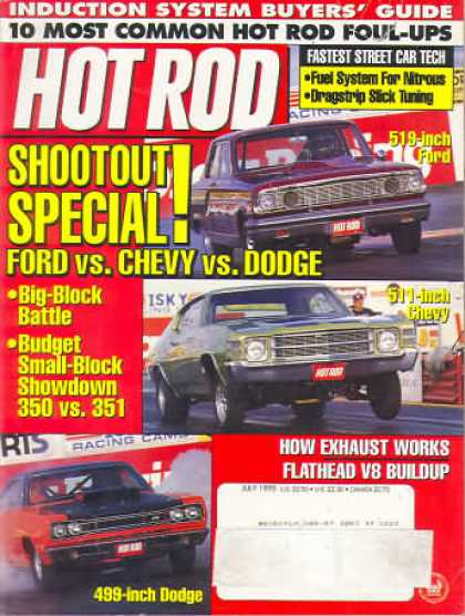 Hot Rod - July 1995