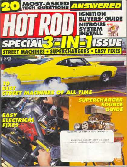 Hot Rod - August 1995
