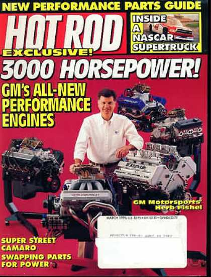 Hot Rod - March 1996