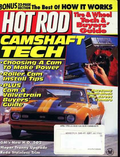 Hot Rod - April 1996