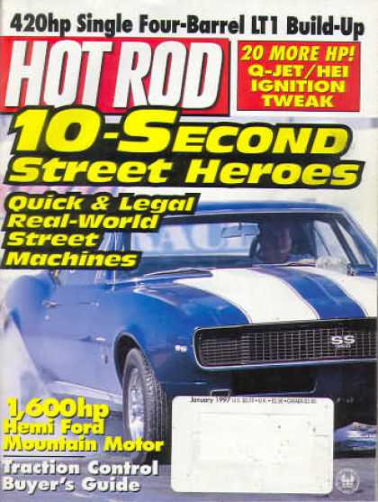 Hot Rod - January 1997