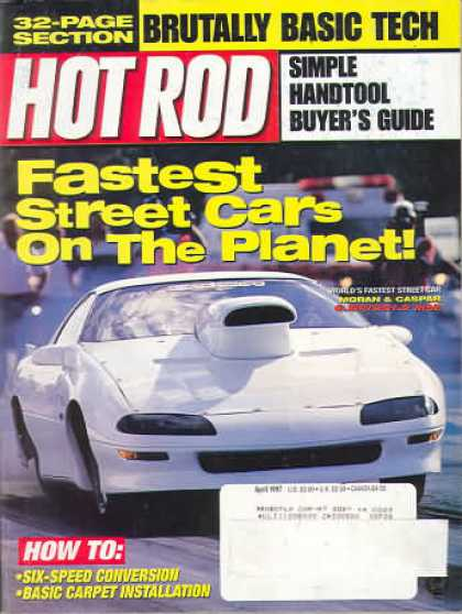 Hot Rod - April 1997
