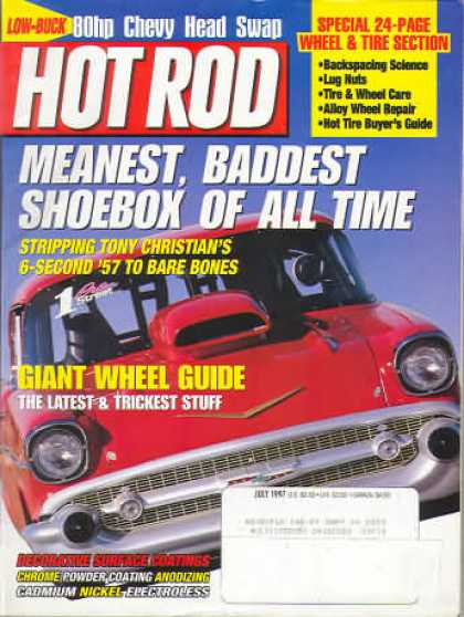 Hot Rod - July 1997