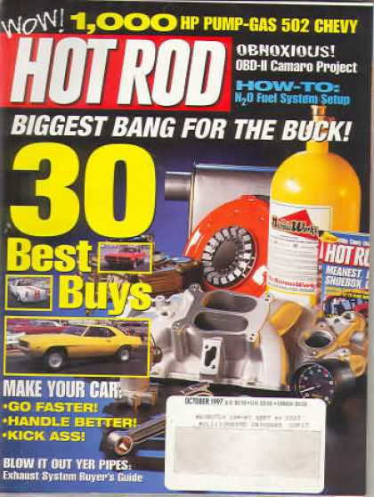 Hot Rod - October 1997