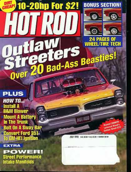 Hot Rod - July 1998
