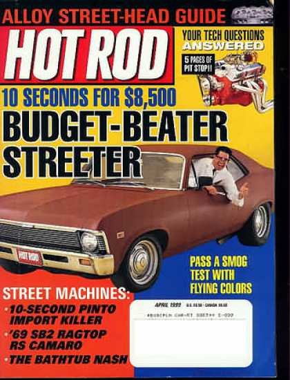 Hot Rod - April 1999