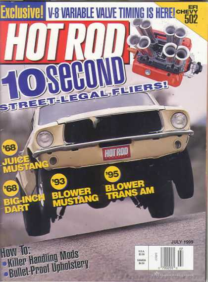 Hot Rod - July 1999