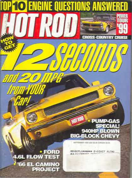 Hot Rod - September 1999