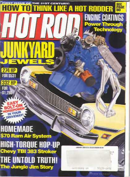 Hot Rod - January 2000