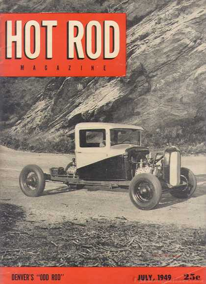 Hot Rod - July 1949