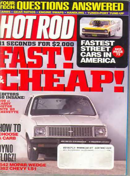 Hot Rod - April 2000