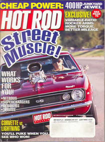 Hot Rod - May 2000