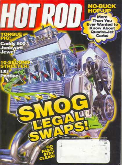 Hot Rod - July 2000