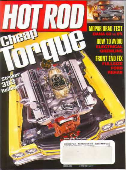 Hot Rod - January 2001