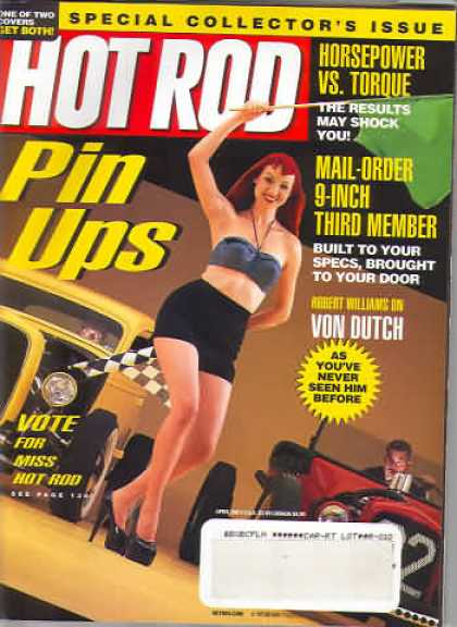 Hot Rod - April 2001