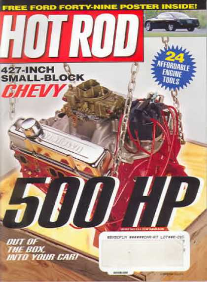 Hot Rod - August 2001