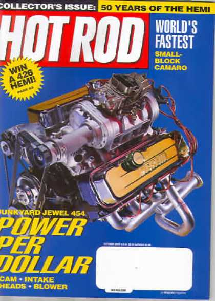 Hot Rod - October 2001