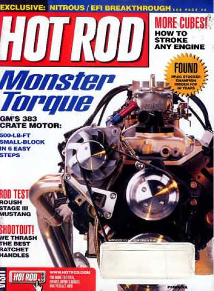 Hot Rod - March 2002